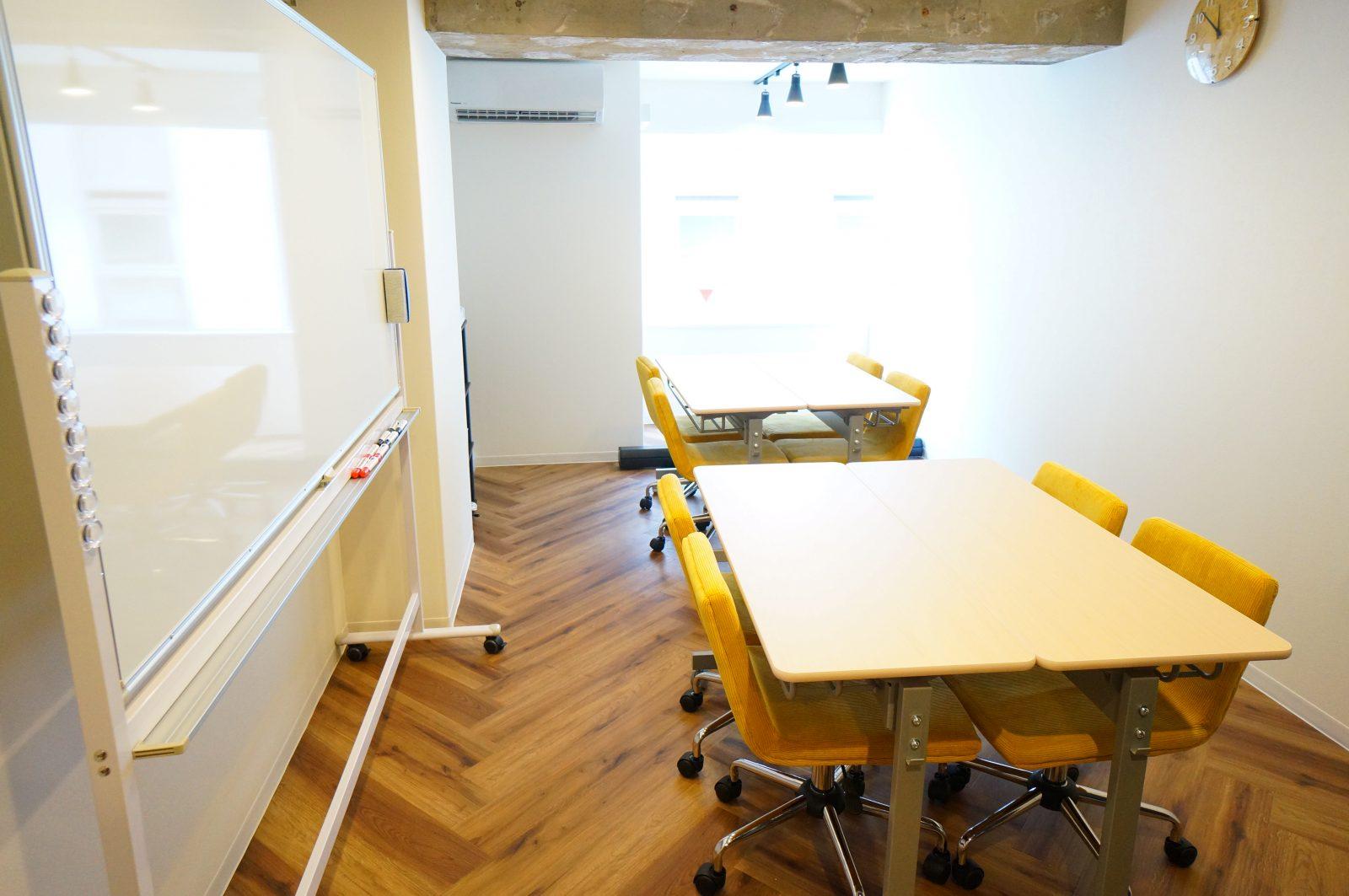 会議や打ち合わせ可能な渋谷のレンタルスペース(貸し会議室)