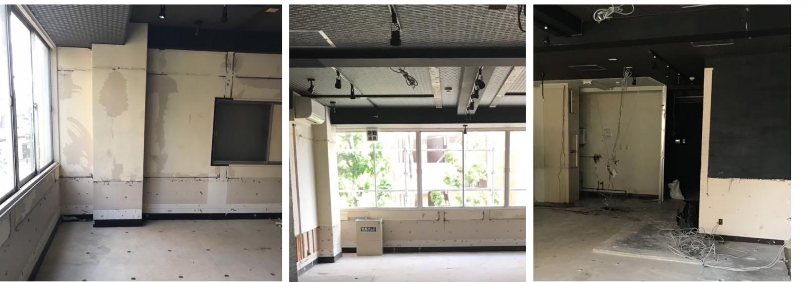 名古屋でスケルトンからレンタルスペース(イベントスペース)に改装した事例画像