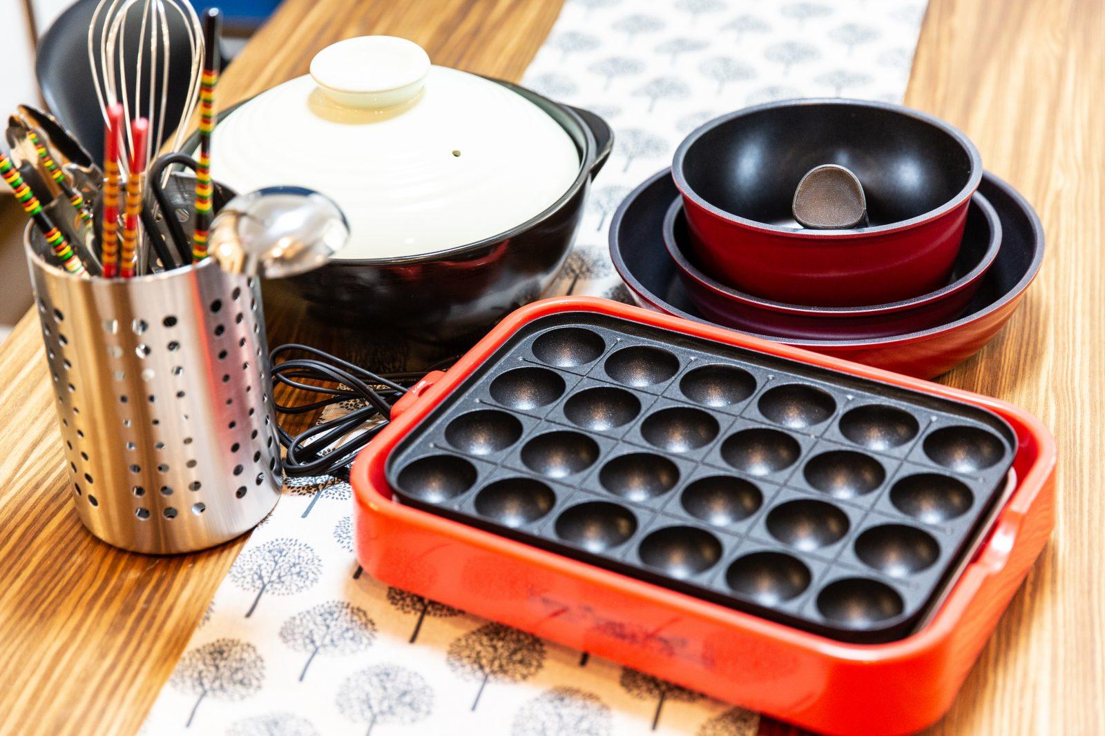 大阪イベントスペースの無料設備のキッチン器具